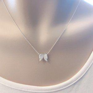 Jewelry - Dainty Angel Wing Necklace